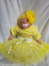Baby Beauty Fairytale Fancy Dress Body Suit Tutu HB Newborn Reborn Diamante Neon