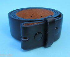 Snap on Leather look Belt Straps in Black Brown White Pink