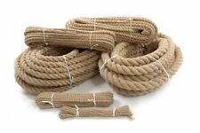 6 mm Natural Jute Rope Twisted Braided Decking Garden Boating Cord Sash Twine