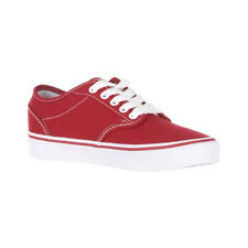 Vans Atwood Canvas Womens Shoe Red Footwear Shoes Chili Pepper White All Sizes