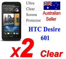 2x HQ Ultra Clear HTC Smartphones, All Models Screen Protectors cover Desire 601
