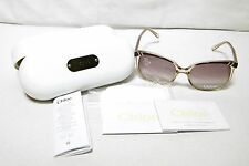 Chloe Women's Belladone Fashion Sunglasses In Light Brown - Preowned