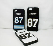 NEW PITTSBURGH PENGUINS SIDNEY CROSBY FOR IPHONE 4 4S 5 5S 5C RUBBER CASE COVER