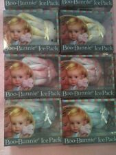 NEW! Stephan Baby BOO-BUNNIE ICE PACK Select Blue Pink or Yellow Polka Dot