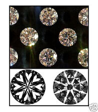 Cubic Zirconia * CZ * Hearts & Arrows Ideal Cut Brilliant Rounds Loose Gemstones
