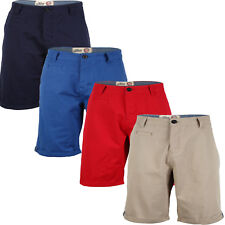 Tokyo Laundry Grenville Mens Roll Up Summer Cotton Chino Shorts Clearance Sale