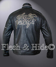 Daft Punk Eloctroma Get Lucky Jacket with Zipper and Stitching Details