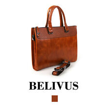 BELIVUS SSB135 Briefcase/high quality genuine leather bag/Browns