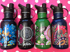 NEW VERA BRADLEY STAINLESS STEEL WATER DRINK FITNESS SPORT BOTTLE YOU CHOOSE NWT