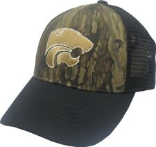 Kansas State NCAA Camouflage Camo Embroidered Logo Baseball Hat Cap