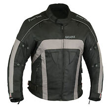 Motorcycle Jacket for Men Wings Motorbike Wind Waterproof CE Armours All Sizes