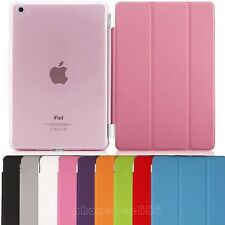 Tri-Fold Slim Smart Magnetic Cover Case for Apple iPad Mini Sleep Wake w/ Stand