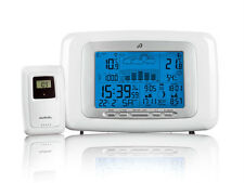 Wireless Weather Station Radio Controlled With Includes Outdoor Sensor&Batteries