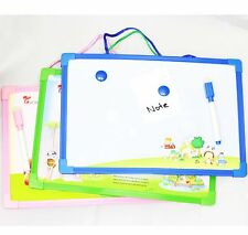 WHITEBOARD + ERASER MARKER Dry Wipe Magnetic Or Hanging Kitchen Fridge Memo