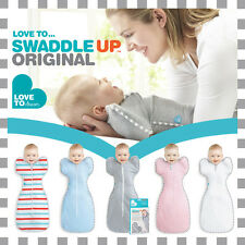 ★ Love to Swaddle Up Original by Love to Dream™ - Baby Sleeping Bag ZipUp Wrap ★
