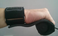 Newgrip padded rowing sculling gloves grips and with detachable wrist strap wrap