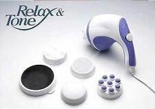 Slimming Vibrating Full Body Sculptor Massager Relax & Spin Tone 220V / 110V