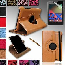 Quality PU Leather Case Cover w/Build-in Stand For Google NEXUS 7 (ASUS) 1st gen