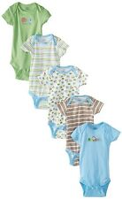 Gerber Baby-Boys 5 Pack Variety Onesies Elephants Design
