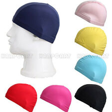 Durable Flexible Sporty Swimming Swim Cap Bathing Hat Unisex 6 Colors