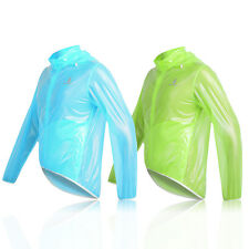 Waterproof Cycle Jacket Hi Viz Bike Cycling Jacket Running Sculling Horse Riding