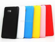 New Slim Fit TPU Silicone Gel Candy Case Cover Skin Back For HTC Desire 600 606W
