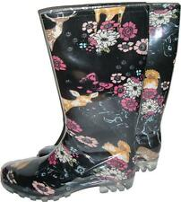 GUMBOOTS LADIES SIZE 6 7 8 9 FLORAL FLOWERS GUM BOOT