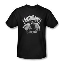 THE THREE STOOGES LAMEBRAINS T SHIRT SM MED LG XL 2XL 3XL
