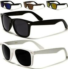 NEW BLACK POLARIZED SUNGLASSES WAYFARER MENS LADIES WOMENS RETRO VINTAGE DRIVING
