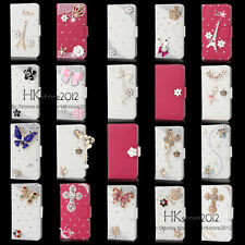 Latest Bling Diamond Wallet PU Leather Case Cover For Sony Xperia C S39h C2305 a