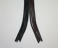 DRESS ROUND Shoelaces! 27 30 Inch Shoe Lace Strings - Dark Brown or Black