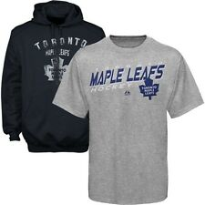 Toronto Maple Leafs NHL Licensed Majestic Pullover Hoodie & Tee Shirt Big Sizes