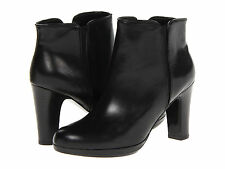 RALPH LAUREN MARCY BLACK WOMENS PLATFORM ANKLE BOOT SHOES MULTIPLE SIZES
