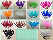Pretty!100/200PCS Natural goose feather 4-6inch/10-15CM decoration plumage