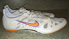 NEW Mens NIKE Zoom Superfly R3 Sprinter Track Spikes Shoes White Orange Purple