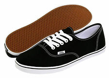 Brand New Vans Authentic Lo Pro Black All Sizes Womens Sneakers Shoes