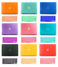 Hard Rubberized Case + Keyboard Cover for Macbook Air 13 11 Retina 13 Pro 13 15