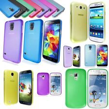 Colour Ultra Thin PC Phone Case Cover For Samsung Galaxy & ATIV S