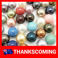 *MIXED ALL COLORS* 10/20/30 PCS SWAROVSKI ELEMENTS 10mm 5810 Crystal Pearl Round