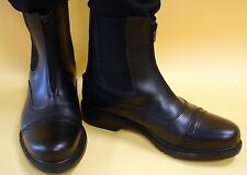 COMFORTABLE Black Riding Paddock Boot TuffRider Boots Starter Beginner Kid Youth