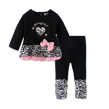 Daddy's lil' Princess baby girl outfits, Baby Girls dress pants suit LZ-T0269