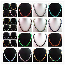 GN4 Strand of Mixed Gemstone Beads Necklace 17.5 inch