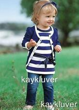 New baby girl toddler 3 piece set top, jacket cardigan , jeans size 1,2,3,4