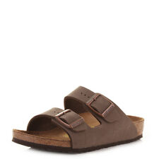 BOYS BIRKENSTOCK ARIZONA MOCCA KINDER FOOTBED SANDALS SHOES SIZE C 11 / EU 29-C