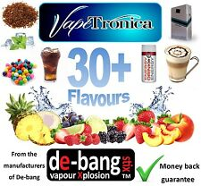 DE-BANG VAPETRONICA E LIQUID E SHISHA E JUICE 10ml REFILL★Trusted Brand★Debang