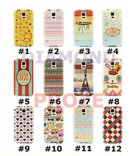 Colorful Cute Hybrid TPU Leather Soft case cover For Samsung Galaxy S5 SV i9600