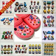 Peppa Pig,Spider Man,Avengers, PVC Shoe Charms For Jibz Bracelets & Coc Shoes