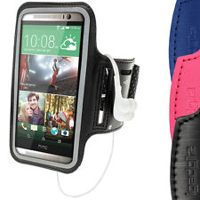Running Jogging Sports Armband for HTC One M8 2014 Case Cover Pouch Fitness Gym
