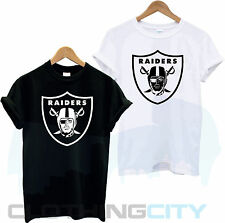 RAIDERS OAKLAND AMERICAN FOOTBALL USA NFL SPORT COLLEGE SUPERBOWL T SHIRT TEE