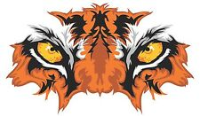 Eye of the Tiger printed 5 year outdoor air egress vinyl decal sticker 4 sizes